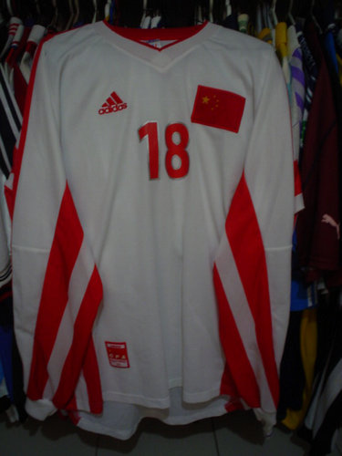 primera equipacion camiseta seleccion china baratas 1998