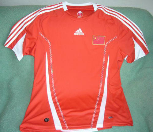 primera equipacion camiseta seleccion china baratas 2008-2010