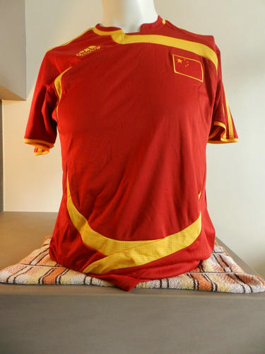 réplica camiseta seleccion china baratas 2008-2009