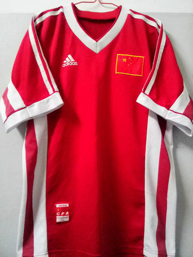 segunda equipacion camiseta seleccion china baratas 1998-2000