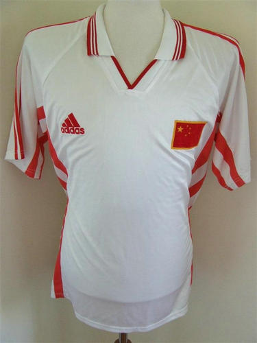 segunda equipacion camiseta seleccion china baratas 1998